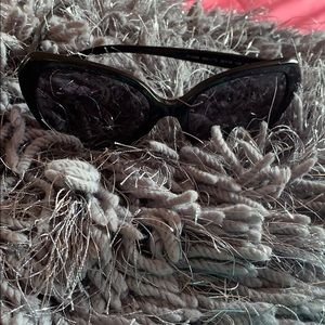 Tiffany & Co polarized black sunglasses w/case